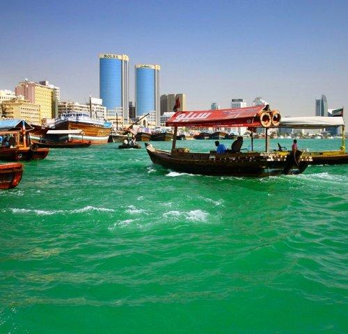 Бухта Дубай-Крик в Дубай
