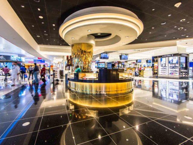 Duty Free в международном аэропорту Дубаи