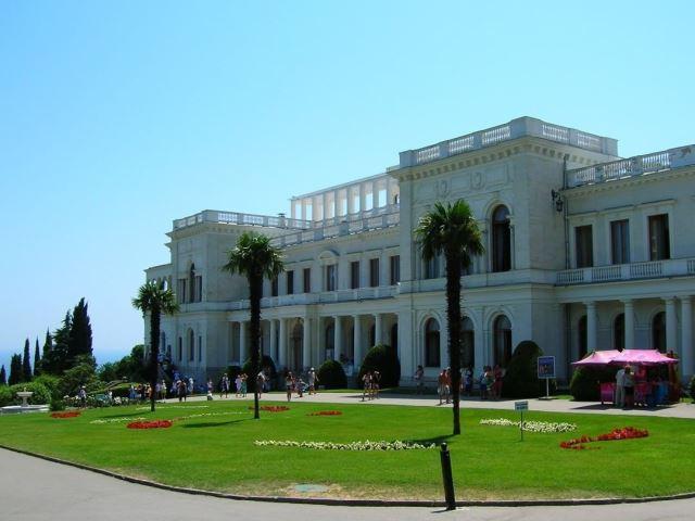 Ливадийский дворец в Крыму