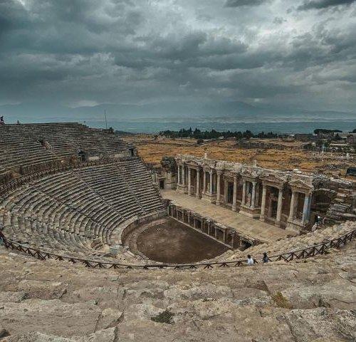 Hierapolis - античный город в Турции