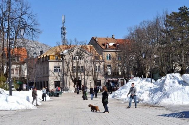 Зима на улицах Цетинье