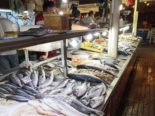 Рыбный рынок в Фетхие