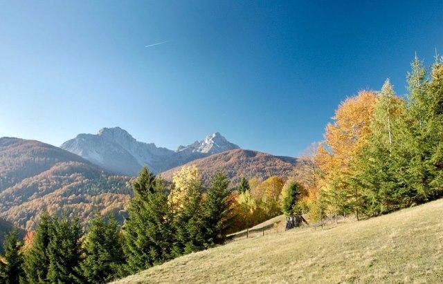 Осень в горах Черногории
